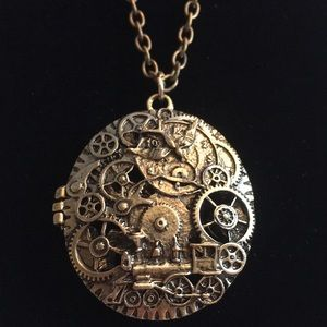 Jewelry - Steampunk Large Magnetic Locket